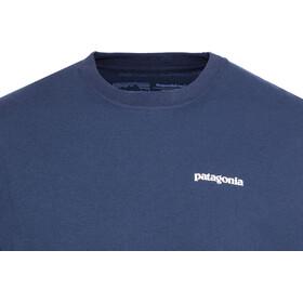 Patagonia P-6 Logo Camiseta responsable Hombre, classic navy
